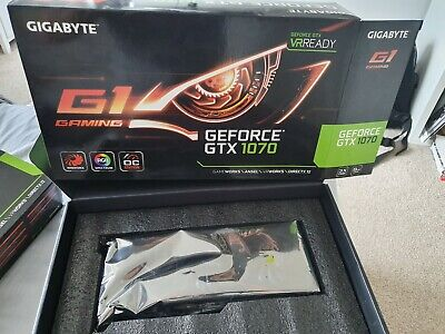 Gigabyte NVIDIA GeForce GTX 1070 G1 Gaming 8GB GDDR5 - perfect condition