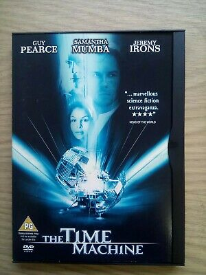 THE TIME MACHINE DVD Like New Action Sci Fi Film Guy Pearce Jeremy Irons