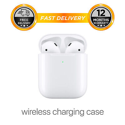 Apple AirPods 2nd Gen  with Wireless Charging Case (Latest Model)