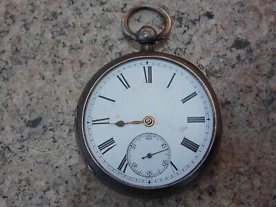 Antique Fusee Pocket Watch, Running. Chester 1891. Wellington Palace Glasgow