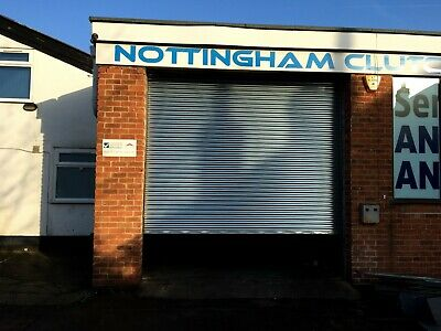 Industrial High Security Steel Commercial Security Roller Shutters Made to order