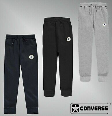 Boys Converse Jersey Soft Brushed Chuck Joggers Sizes Age from 8 to 15 Yrs