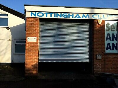 Security Galvanised Commercial Security Roller Shutters - All sizes ready