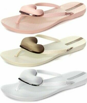 dda46c5a910739 New Ipanema Brasil Maxi Heart 21 Womens Flip Flops ALL SIZES AND COLOURS