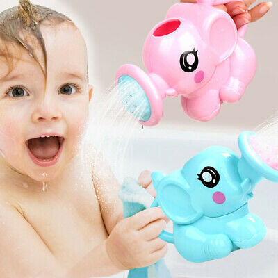 Swimming Bathing Toys Funny Small Elephant Watering Pot For Kids Baby Showering