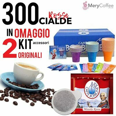 300 Cialde BORBONE rossa RED+ KIT Accessori