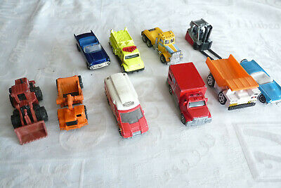 lot de 10 voitures matchbox