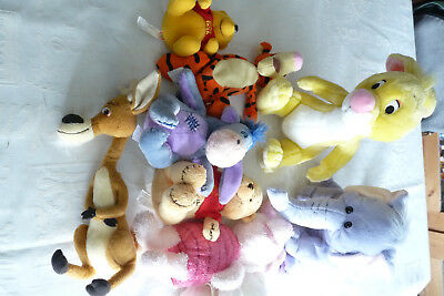 lot de peluches Winnier l'ourson Disney