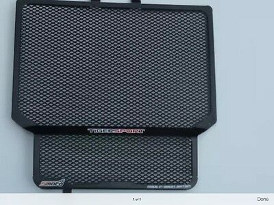 triumph 1050 tiger sport rad guard radiator guard