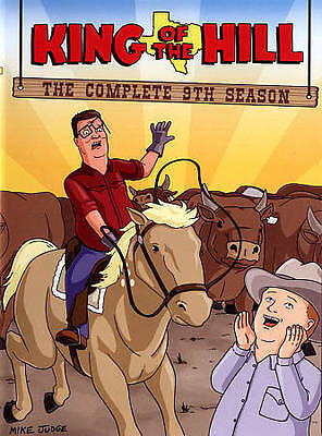King of the Hill: The Complete 9th Season (DVD, 2015, 2-Disc Set)