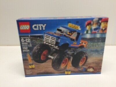 NEW NIB LEGO City 60180 Monster Truck NISB Sealed FAST PRIORITY SHIP
