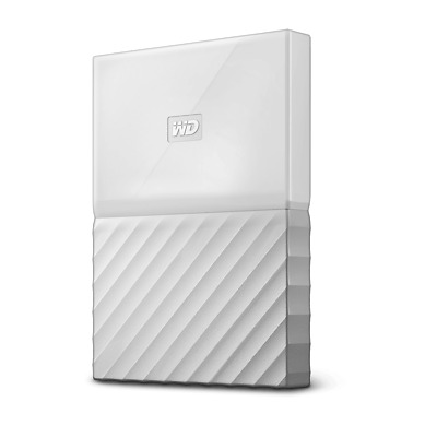 WD My Passport 2TB White (Thin) Manufacturer Refurbished Portable Hard Drive ...