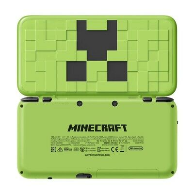 Nintendo New 2DS XL: Minecraft Creeper Edition (Refurbished by EB Games) preowne