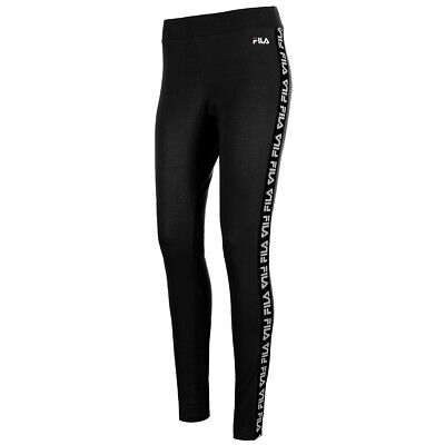 FILA 687216 002 Black women philine leggings Leggings Donna Abbigliamento
