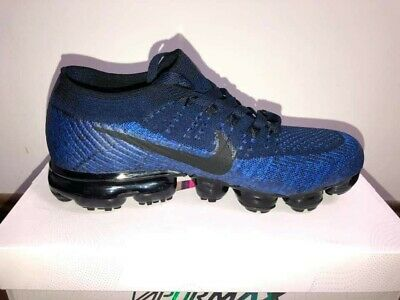 Nike Air Vapormax Flyknit College Navy Black BlueMultiple Sizes Available