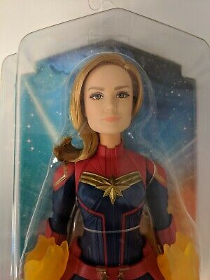 "2019 Marvel Movie CAPTAIN MARVEL 12"" Cosmic Super Hero Articulated Doll"