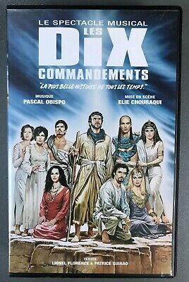 "VHS ""Les dix commandements : Le spectacle musical"" (GW)"