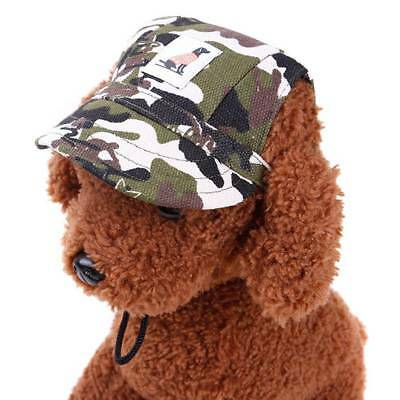 Dog Hat With Ear Holes Summer Canvas Baseball Cap For Dog Outdoor Products Pet