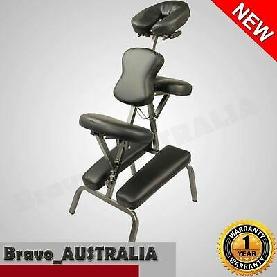Aluminium Portable Massage Chair Table Beauty Therapy Tattoo Waxing NEW