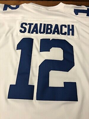 detailed look 9791f b285e MITCHELL & NESS '75 Dallas Cowboys Roger Staubach #12 White ...