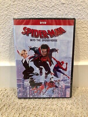 Spider-Man: Into The Spider-Verse Brand New DVD Free Shipping Free Returns