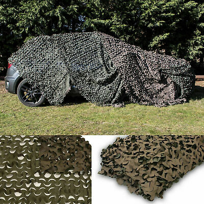 Camo Net Camouflage Netting Reversible Green/Brown Hunting/Shooting by Celldeal