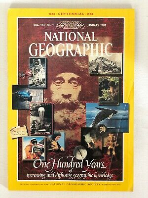 National Geographic - January 1988 - Vol. 173, No. 1