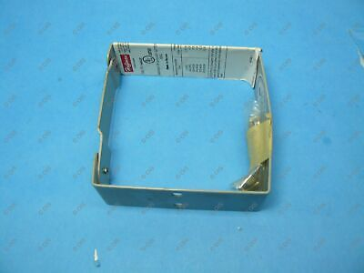 "Hoffman F44GUC Lay-In Type 1 Wireway U Connector 4"" x 4"" Steel Gray 52260 New"