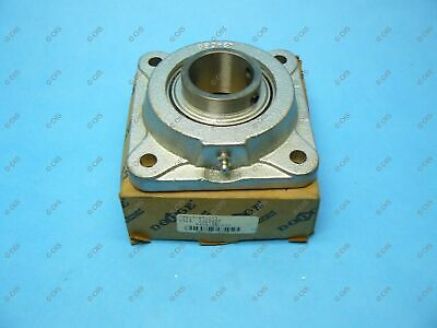 "Dodge 124126 F4B-SCNP-115 Cast Iron Flange Mounted Bearing 4 Bolt 1-15/16"" Bore"