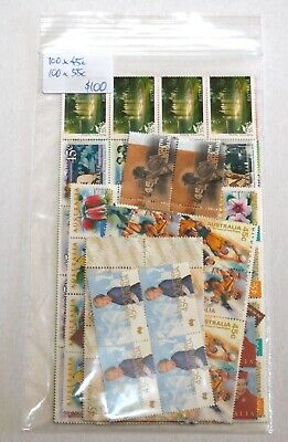 Discount Australian Postage Stamps - 100 X 2 stamps make $1 - Face Value $100