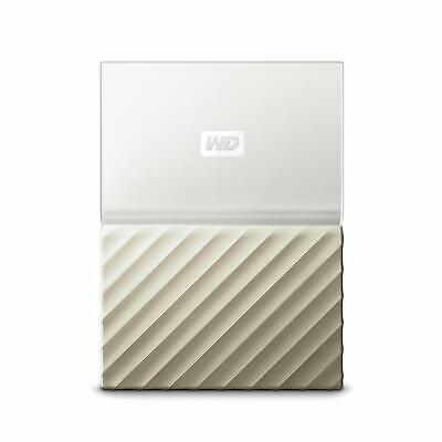 My Passport Ultra 3TB White Gold Portable Hard Drive by Western Digital