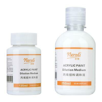 135/250ml Acrylic Paint Pouring Fluid Effect Medium For Mixing Paints Accessory