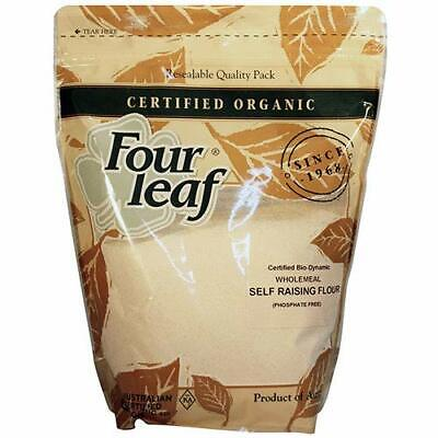 Four Leaf Milling Organic Wholemeal Self Raising Flour, 1 kg