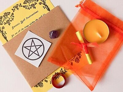 Spell Agate Ring Kit Bag - Choose from List - Witch Pagan Wicca Witchcraft Magic