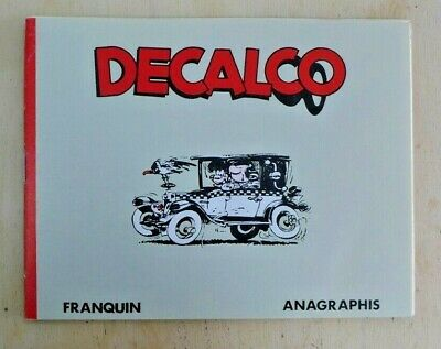 Decalco Franquin EO Anagraphis 1988