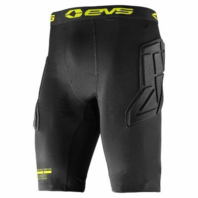 EVS Funktionsbekleidung TUG Padded Short Schwarz Enduro Cross Motocross MX