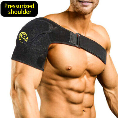 Adjustable Shoulder Brace Support Strap Compression Bandage Sports Arthritis NEW