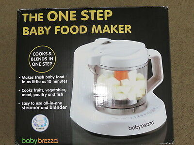 EXCELLENT BabyBrezza Baby Brezza One Step Baby Food Maker - BPA Free