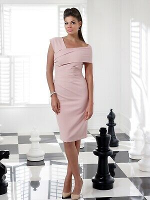 NEW SEASON Veromia Mother Of The Bride/groom Outfit Size 12 Blush Pink.