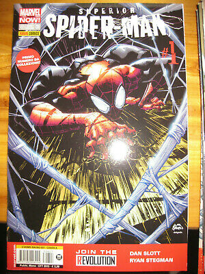Superior Spiderman Marvel Now da 1 a 10 completa Nuovi