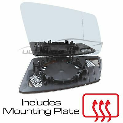Peugeot 3008 2009-/> Wing Mirror Glass Heated O//S Drivers Side Right