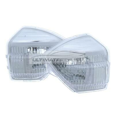 Ford S-Max 2006-2016 Clear Door Mirror Indicator Light Pair Left & Right
