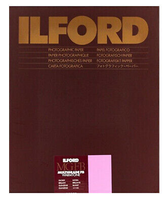 Ilford Warmtone MGFB Gloss  9½ x12 (24x30.5) 50 Sheets