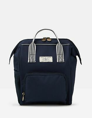Joules Girls Coast Mini Me Backpack in FRENCH NAVY in One Size
