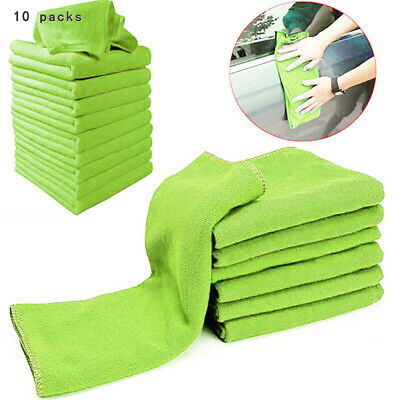 10x Microfiber Cleaning Cloth Auto Car Polishing Detailing Duster Cloth Eyeful