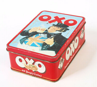 OXO Tin Limited Edition  Beef Stock Cube.  Collectable