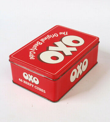 OXO Tin 48 cubes Beef Stock Cube.  Collectable