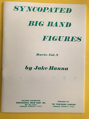 Syncopated Big Band Figures, Duets Vol. 2, Jake Hanna