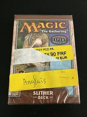 MTG Magic the Gathering Slither Pre-Constructed Theme Deck Prophecy Sealed New