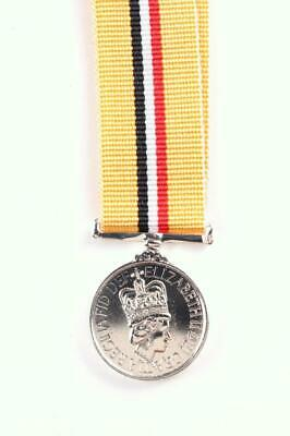 Miniature Iraq Medal Official Release British Commonwealth Armed Forces
